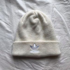 Adidas Cream Knit Beanie